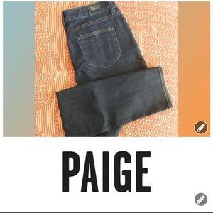 Paige Skyline skinny stretch fabric jeans